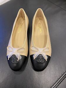 Chanel Flats Sz 38 (new)
