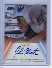 2013 Star Wars Jedi Legacy John Morton as Dak Ralter Autograph Auto