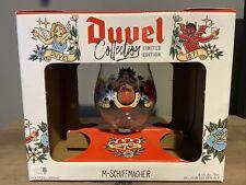 Duvel Artist Beer Snifter Glass, M. Schiffmacher Limited Edition