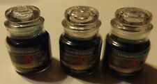 Lot of 3 YANKEE CANDLE 3.7oz JAR CANDLE Sparkling Balsam
