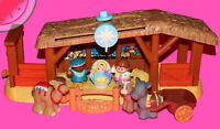 Fisher Price Little People NATIVITY Christmas Story SET with Figures Toy