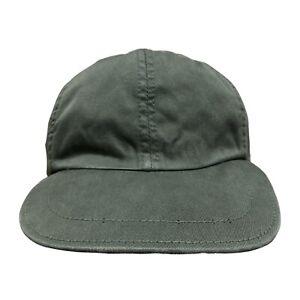 Brunello Cucinelli Cotton Olive Green Baseball Cap