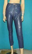 Trousers Levi's Red Engineered Slim High Waist Leather Blue T 31/32 or 38 Fr