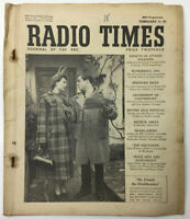 RADIO TIMES MAGAZINE 2nd FEBRUARY 1951 VOL.110 NO. 1421 FRIENDS THE BRAITHWAITES