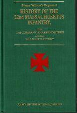 Henry Wilson's Regiment History of the 22nd Massachusetts by Parker