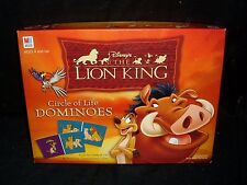 DISNEY THE LION KING CIRCLE OF LIFE DOMINOES GAME MILTON BRADLEY 2003 COMPLETE