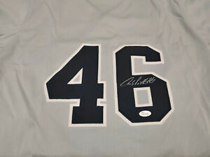 New York Yankees Andy Pettitte Signed Custom Jersey JSA COA