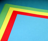 100 Sheets Bright Card Mounting Card Red Blue Yellow Green 180gsm A2 A3 A4 plus