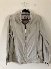 Seasalt Mascot Cream Casual Cargo Jacket Coat Cotton Size 14