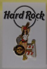 Hard Rock Cafe Pin Builder Girl with guitar Las Vegas at H R Hotel 2010 Le300