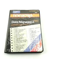 Timeworks Data Manager 2 for Commodore 64 and 128 ✔ 2.B3