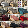 Damask Quilt Duvet Cover Bedding Set Double king Super King With Valance Sheet