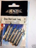 Drop Shot Bleie Stabform  Jenzi 6 Stk a 15 g Drop Shot Zander Stabblei