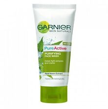 Garnier 50ml Pure Active Neem Face Wash for pimple pron skin fights bacteria