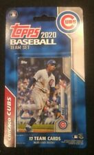 2020 Topps Factory Chicago Cubs Team Set of 17 Cards