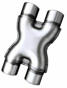 3 inch crossover stamped X-pipe
