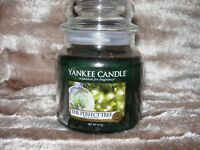 Yankee Candle The Perfect Tree Christmas Medium Jar 411g NEW