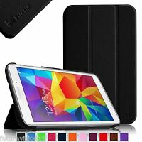 For Samsung Galaxy Tab 4 7.0 7-Inch SM-T230 Slim Leather Case Cover Stand