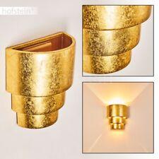 Applique dorée Lampe murale Lampe de corridor Éclairage de salon Spot Céramique