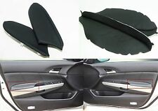 2008-2012 Honda Accord Black Leather LH & RH Armrest Covers New Free Shipping