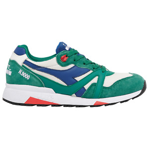 Diadora N9000 H Mesh Italia Heritage Green White Red Men's 7.5-12 Made In Italy