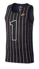 Nike Sportswear NSW Penny Hardaway Tank Black Gold 884284 010 Size Small