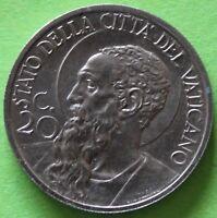 ITALIE VATICAN 20 CENTESIMI 1930