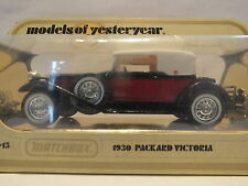 MATCHBOX MODELS OF YESTERYEAR - Y-15 PACKARD VICTORIA - RARE
