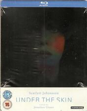 Under The Skin (Scarlett Johansson) Blu-Ray Steelbook OVP Very rare!