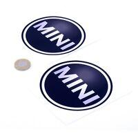 MINI Sticker Decal Badge Car Vinyl 100mm x2 Cooper S Clubman Countryman SD