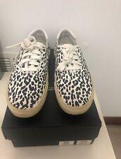 Saint Laurent YSL Baby Cat Leopard Print Sneakers-Size 42 ~US 9 100% AUTHENTIC!
