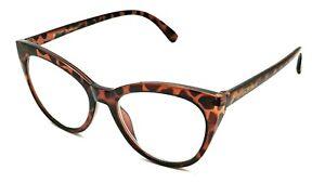Betsey Johnson Tortoise Cat Eye Reading Eyeglasses Frame 2.50 (BJ1)