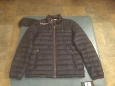 Tommy Hilfiger Men's Quilted Packable Navy Blue Zipper Front Jacket NWT