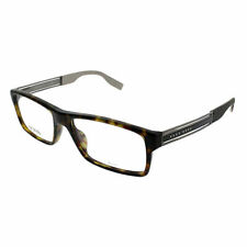 63969968167 Hugo Boss BHB 0566 Eyeglasses 0aql Dark Havana Ruthenium