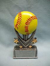 Softball trophy varsity sport full color resin award Vsr107