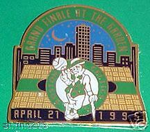Celtics Grande Finale at the Garden Giveaway Pin GREAT