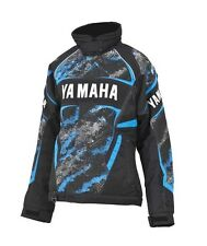NEW YAMAHA FXR WOMENS TEAM SNOWMOBILE WINTER JACKET TEAL BLUE SIZE 06