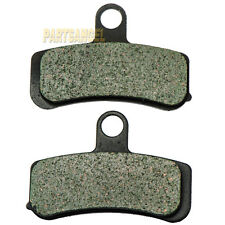 Front Carbon Brake Pads - 2010 2011 HARLEY Softail FLSTFB Fat Boy LO