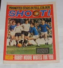 SHOOT MAGAZINE JULY 25TH 1970 - PROMOTED STARS BID FOR NEW HONOURS
