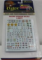 MONOGRAM 5122 RACING SPONSOR LOGOS (300+) 1/32 WATER SLIDE DECAL SHEET REVELL