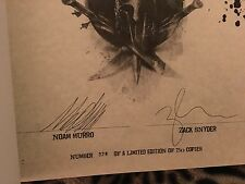 300 rise of a empire art of the film limited edition signed book by jack synder