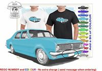 CLASSIC 70-71 HG HOLDEN SEDAN ILLUSTRATED T-SHIRT MUSCLE RETRO SPORTS