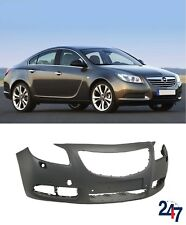 NEW OPEL INSIGNIA 2009 - 2014 FRONT BUMPER WITH PDC AND HEADLIGHT WASHER HOLES