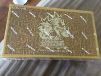 YuGiOh Yugi's Legendary Decks 1 FACTORY SEALED BOX All 3 Decks - NEW!  Exodia +