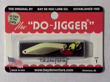 "Bay de Noc Do Jigger- Nickel GLO - #1 - 1 3/4""- 1/6 oz."