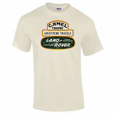 Land Rover Camel Trophy Vintage Premium T-Shirt Retro Discovery Range Upto - 5XL