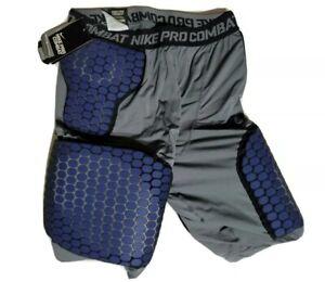 Mens Nike Dir-Fit Pro combat compression Basketball Padding Base Layer XL Shorts