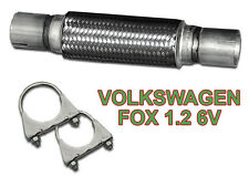 Volkswagen FOX 1.2 6V Flexi pipe connector with extensions DIY!