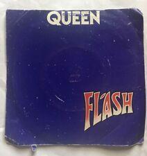 "Queen - Flash - EMI Records Picture Sleeve 7"" Single EMI 5126 Nr EX"