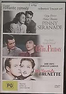 His Girl Friday / My Favourite Brunette / Penny Seranade DVD R4